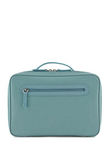Longchamp Le foulonné Toiletry case Blue