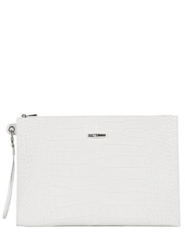 Longchamp Pochette/trousse Blanc
