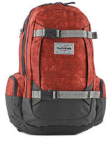 Backpack 1 Compartment + 15'' Pc Dakine Red snowpacks 1000-761