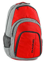 Backpack 1 Compartment + 15'' Pc Dakine Red street packs 8130-057