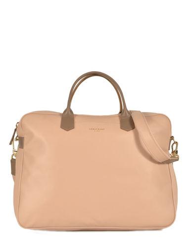 Longchamp Longchamp 2.0 Briefcase Beige