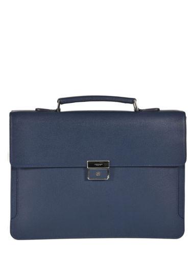 Longchamp RACING + Briefcase Blue