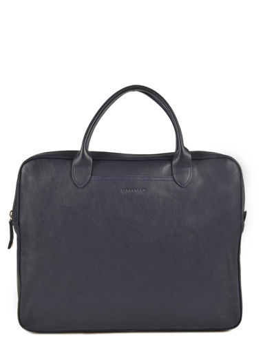 Longchamp Parisis Briefcase Blue