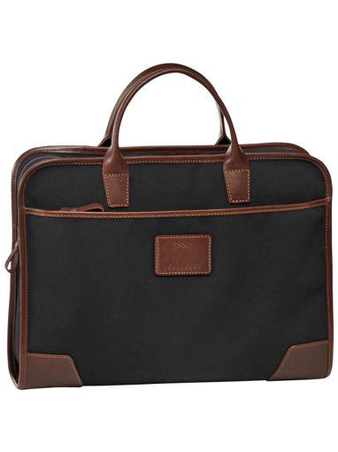 Longchamp S@fari sur Seine Briefcase Black