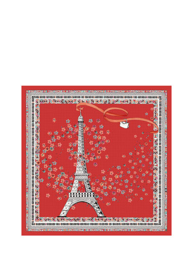 Longchamp Scarves Red