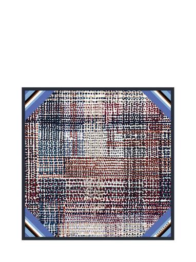 Longchamp Foulard Bleu