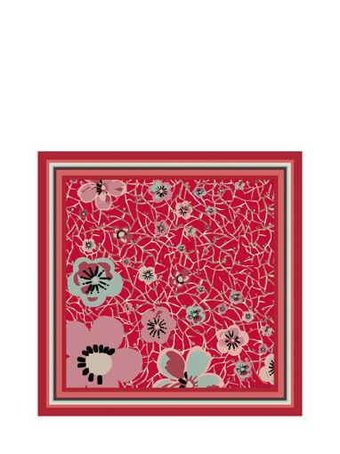 Longchamp Foulard Rouge
