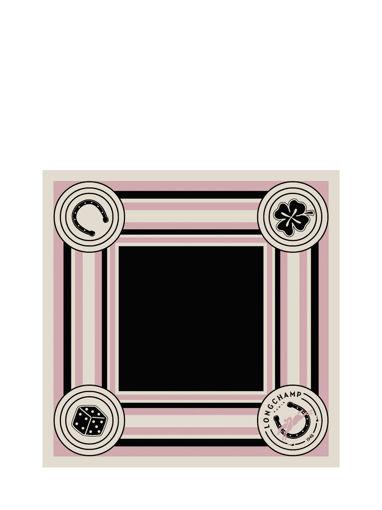 Longchamp Foulard Rose