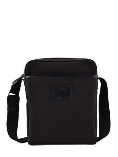 Longchamp S@fari sur Seine Besace Noir
