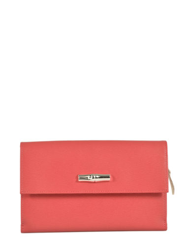 Longchamp Wallet Red