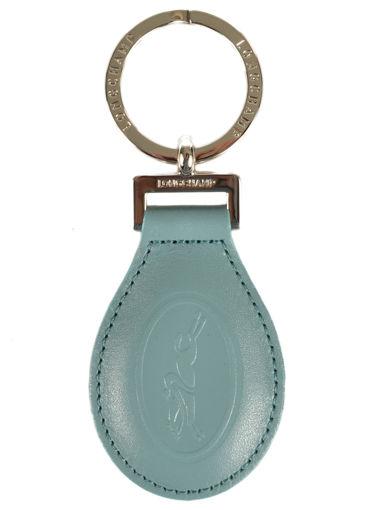Longchamp Le foulonné Porte clés Bleu