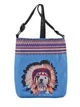 Shoulder Bag Teo Apache Teo jasmin Blue teo apache TEO630AP