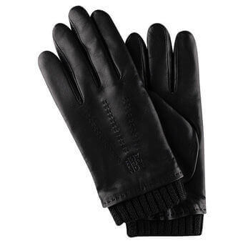 Longchamp Gants homme Gloves Black