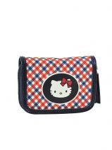 Portemonee Hello kitty Blauw new luxury HKX21031