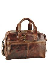 Bagage 48 Heures 42cm Cow boy Marron vegetal 1082