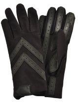 Gloves Isotoner Black gant 23092A