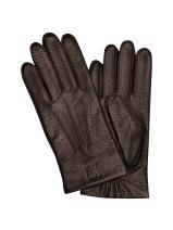 Longchamp Cavalier Gloves Brown