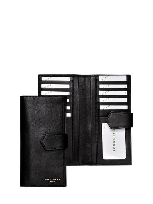 Longchamp Longchamp 2.0 Wallet Black