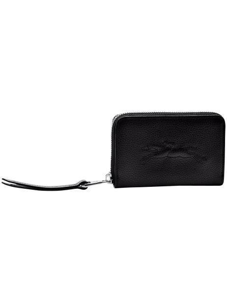 Longchamp Le Foulonné - Affaires Coin purse Black