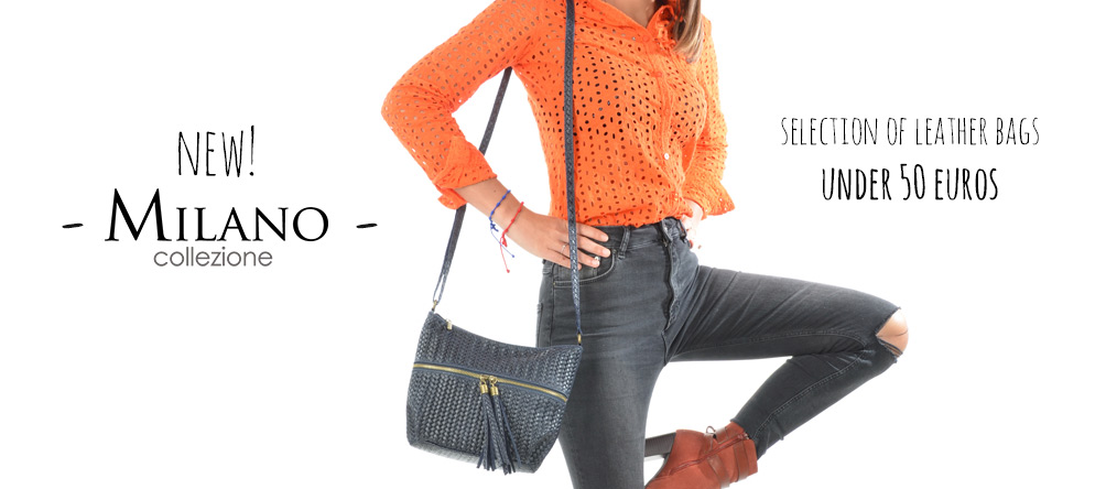new collection milano handbags leather