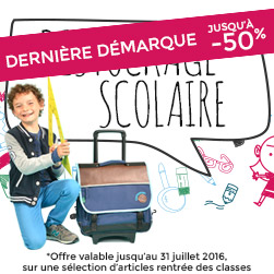 promotions cartable scolaire