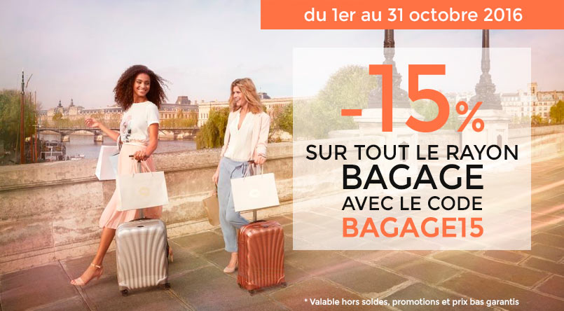 offre promotion bagage