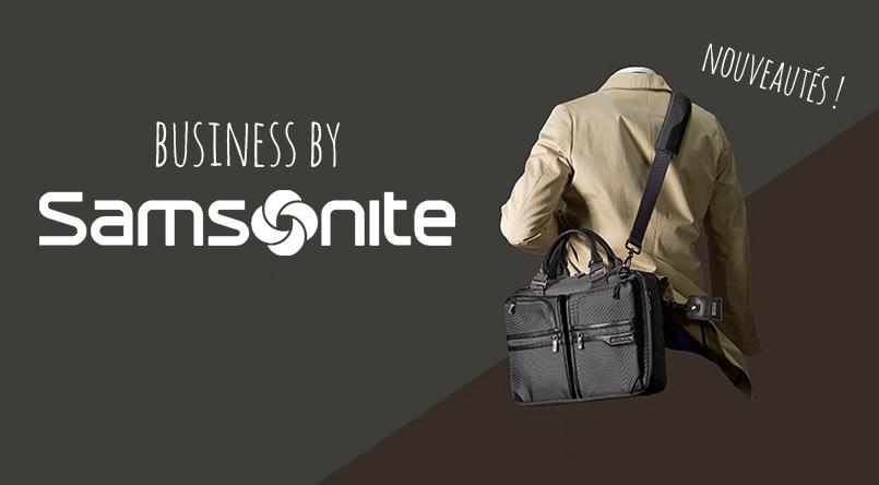 sac business et sac a dos samsonite