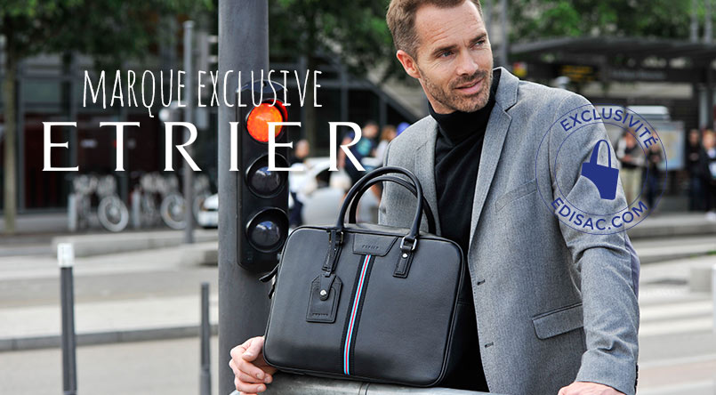 sacs business serveitte porte document cuir etrier