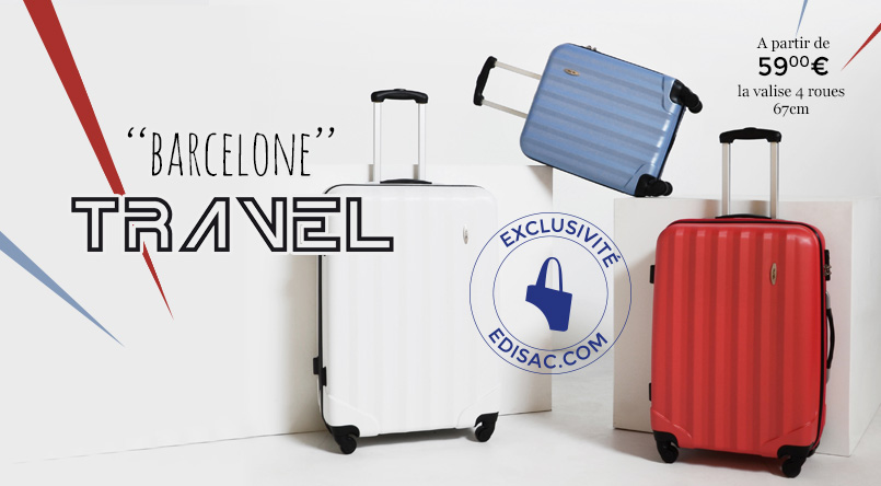 valise travel barcelone