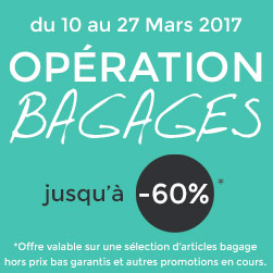 operation bagages promotions valises