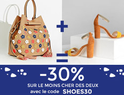 promotion chaussures sac a main