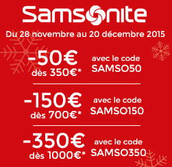 bagages samsonite