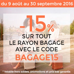 promotion bagages